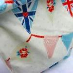 Oilcloth Lunch Bag - Bunting