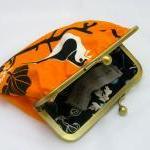 Fabby Purse -Orange Bird