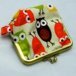 Silly Coin Purse - Owls